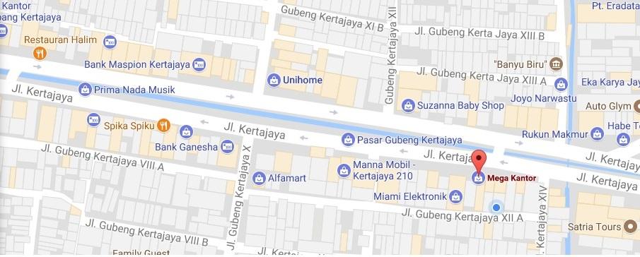 Map Megakantor